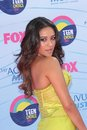 Shay mitchel mitchell at the teen choice awards arrivals gibson amphitheatre universal city ca Stock Photography