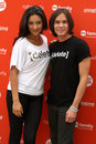 Shay Mitchell, Tyler Blackburn Stock Images
