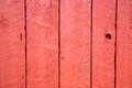 Shed door detail of a red Stock Photos