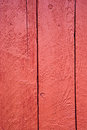 Shed door detail of a red Royalty Free Stock Photo