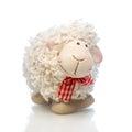 Sheep the symbol 2015 year Royalty Free Stock Photo