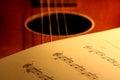 Sheet Music On Guitar 2