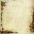 Sheet of old soiled paper background grunge texture Stock Photos