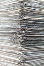 Sheets of role piled Royalty Free Stock Photo