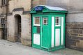 Sheffield police box Royalty Free Stock Photo