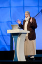 Sheikh Yusuf Estes from USA in DIPC 2012 Royalty Free Stock Photo