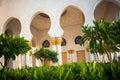 Sheikh Zayed Grand Mosque Abu Dhabi Royalty Free Stock Photo