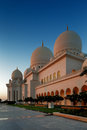 Sheikh zayed grand mosque abu dhabi is the largest in the uae and rd world this image was created at Stock Photo