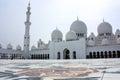 Sheikh zayed grand mosque em abu dhabi Imagem de Stock