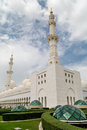 Sheikh zayed grand mosque is located in abu dhabi is considered to be the key for worship in the country Royalty Free Stock Image