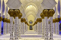 Sheikh zayed mosque Stock Photos