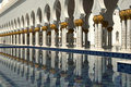 Sheikh Zayed Mosque Abu Dhabi Stock Photography