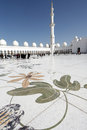 Sheikh Zayed Mosque Abu Dhabi Royalty Free Stock Photography