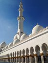 Sheikh zayed mosque in abu dhabi Fotografia Stock