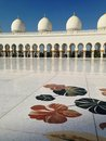 Sheikh zayed mosque in abu dhabi Royalty-vrije Stock Fotografie