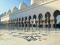 Sheikh zayed mosque in abu dhabi Immagine Stock