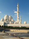 Sheikh zayed mosque in abu dhabi Stock Foto