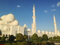 Sheikh zayed mosque in abu dhabi Lizenzfreie Stockbilder