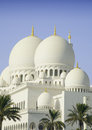 Sheikh zayed mosque in abu dhabi city uae beautiful Royalty Free Stock Image