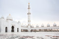 Sheikh zayed mosque at abu dhabi uae beautiful white Stock Photo