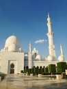 Sheikh zayed mosque in abu dhabi uae december exterior of grand center united arab emirates Stock Photo