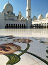 Sheikh zayed mosque in abu dhabi uae december exterior of grand center united arab emirates Stock Images