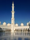Sheikh zayed mosque in abu dhabi uae december exterior of grand center united arab emirates Royalty Free Stock Photo