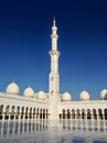 Sheikh zayed mosque in abu dhabi uae december exterior of grand center united arab emirates Royalty Free Stock Image