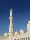 Sheikh zayed mosque in abu dhabi uae december exterior of grand center united arab emirates Royalty Free Stock Photos