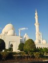 Sheikh zayed mosque in abu dhabi uae december exterior of grand center united arab emirates Stock Image