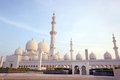 Sheikh zayed mosque abu dhabi uae middle east Stock Photo