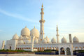 Sheikh zayed mosque abu dhabi uae middle east Royalty Free Stock Photos