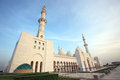 Sheikh zayed mosque abu dhabi uae middle east Royalty Free Stock Photography