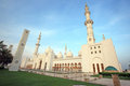 Sheikh zayed mosque abu dhabi uae middle east Stock Photos