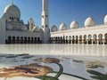 Sheikh zayed mosque en abu dhabi Photo stock
