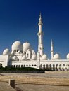 Sheikh zayed mosque en abu dhabi Images libres de droits