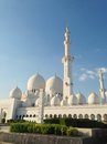 Sheikh zayed mosque en abu dhabi Photo libre de droits