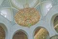 Sheikh Zayed Mosque Swarovki crystals lamp.