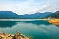 Shek pik lake the photo was taken in lantau south country park hongkong china Stock Photos