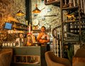 Sheki Coffee Shop in Caucasus Mountains on road to Khan Palace