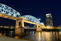 Shelby Bridge in Downtown Nashville Royalty Free Stock Photo