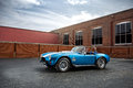 Shelby cobra csx outside a building Royalty Free Stock Image