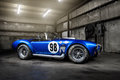 Shelby cobra csx in a warehouse Royalty Free Stock Images