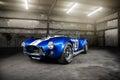 Shelby cobra csx in a warehouse Stock Photos