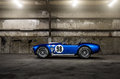 Shelby cobra csx in a warehouse Stock Images