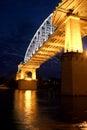 Shelby Street Bridge Royalty Free Stock Photo