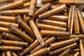 Shell casings Stock Image