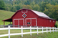 Shell Creek Quilt Barn Stock Photos