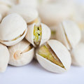 Shelled pistachio Stock Photo
