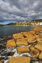 Shelley Beach, Manly Stock Image
